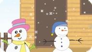 Игра Создайте Своего Снеговика / Build Your Snowman