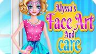 Игра Лицевое Искусство Алисы / Alyssa`S Face Art And Care