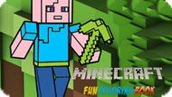 Игра Майнкрафт: Забавная Книжка-Раскраска / Minecraft Fun Coloring Book