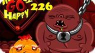 Игра Счастливая Обезьянка: Уровень 226 / Monkey Go Happy Stage 226
