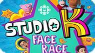 Игра Студия К: Гоночное Лицо / Studio K: Face Race