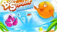 Игра Стрельба По Пузырям: Пляжный Хлоп! / Bubble Shooter: Beach Pop!