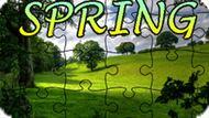 Игра Головоломка Пазл: Весна / Jigsaw Puzzle: Spring