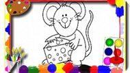 Игра Мультипликационная Книжка-Раскраска Детей / Kids Cartoon Coloring Book