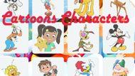 Игра Герои Мультфильмов: Память / Cartoons Characters