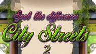 Игра Найти Отличия: Городские Улицы 2 / Spot The Differences City Streets 2