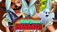 Игра Кайли Дженнер: Искусство Рисования На Лице На Хэллоуин / Kylie Jenner Halloween Face Art