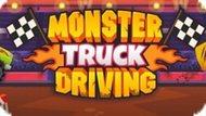 Игра Вождение Грузовика Монстра / Monster Truck Driving