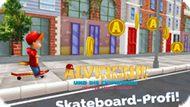 Игра Элвин И Бурундуки: : Профессионал Скейтборда / Alvinnn Und Die Chipmunks: Skateboard-Profi