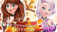 Игра Подружки Принцессы: Осенняя Вечеринка / Princesses Bffs Fall Party