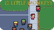 Игра 12 Маленьких Обезьян / 12 Little Monkeys