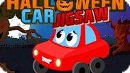 Игра Автомобильная Мозаика Хэллоуина / Halloween Car Jigsaw