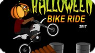 Игра Мотопробег На Хэллоуин / Halloween Bike Ride 2017