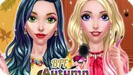 Игра Лучшие Подруги: Осенний Макияж / Bff Autumn Makeup