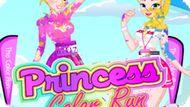 Игра Принцессы: Цветной Пробег / Princess Color Run