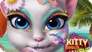 Игра Китти Макияж На Пляже / Kitty Beach Makeup
