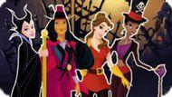 Игра Принцессы: Ночь Хэллоуина / Princesses Halloween Night