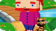 Игра Раскраска Блокового Мальчика / Coloring Bloxy Boy