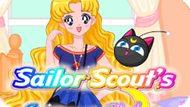 Игра Сейлор Мун: Летний Стиль Скаутов / Sailor Scout`S Summer Style