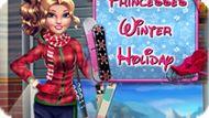 Игра Зимние Каникулы Принцесс / Princesses Winter Holiday