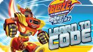 Игра Вспыш И Чудо-Машинки: Роботы Гонщики Программный Код / Baze And The Monster Machines Robot Riders Learn To Code