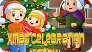 Игра Рождественский Праздник Пазл / Xmas Celebration Jigsaw