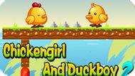 Игра Курица И Селезень: Приключения 2 / Chickengirl And Duckboy 2