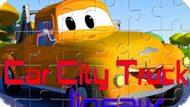 Игра Автомобильные Грузовики Пазл / Car City Trucks Jigsaw