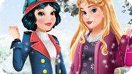 Игра Аврора И Зимняя Мода Белоснежки / Aurora And Snow White Winter Fashion