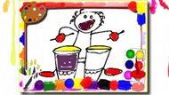 Игра Музыкальная Книжка-Раскраска / Music Coloring Book