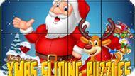Игра Рождественские Скользящие Пазлы / Xmas Sliding Puzzles