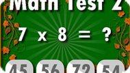 Игра Математический Тест 2 / Math Test 2