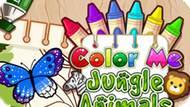 Игра Раскрась Меня: Животные Джунглей / Color Me Jungle Animals