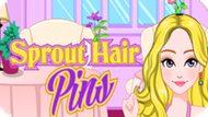 Игра Роскошные Шпильки Для Волос / Sprout Hair Pins