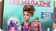 Игра Трис: Наряд Для Модной Обложки / Tris Magazine Dress Up