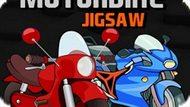 Игра Мультипликационная Мозаика Мотоцикла / Cartoon Motorbike Jigsaw