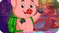 Игра Мини Побег Непослушной Свинки / Mini Escape-Naughty Pig