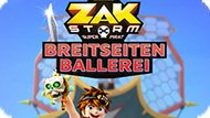 Игра Зак Шторм Супер Пират: Бортовой Выстрел / Zak Storm Super Pirate: Breitseiten Ballerei