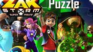 Игра Зак Шторм Супер Пират: Пазл / Zak Storm Super Pirate Puzzle