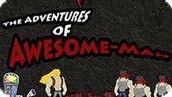 Игра Приключения Удивительного Человека / The Adventures Of Awesome-Man