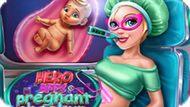 Игра Беременные Супер Подружки На Проверке / Hero Bffs Pregnant Check Up