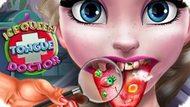 Ледяная королева: доктор лечит язык