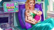 Элли рожает близнецов