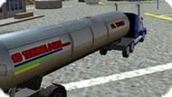 Вождение грузовика-бензовоза
