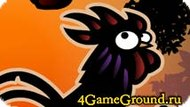 Rooster and worms Game