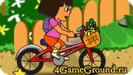 Game about Dora bike