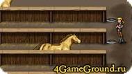 Кормим лошадок