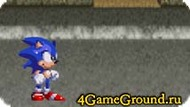 A fight game about a hedgehog Sonic