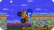 A difficult race with Sonic