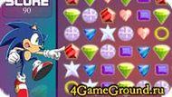 Sonic X Emerald Grab